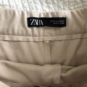 Zara Shorts - Zara tan skort
